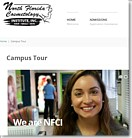 North Florida Cosmetology Institute - New Web site
